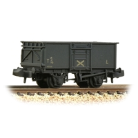 BR 16T Steel Mineral Wagon with Top Flap Doors NCB Grey