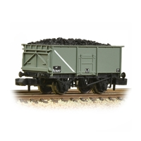 BR 16T Steel Mineral Wagon with Bottom Doors BR Grey (Early)