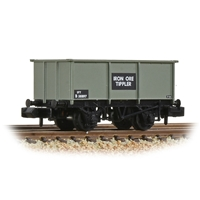 BR 27T Steel Tippler Wagon BR Grey (Early) 'Iron Ore'