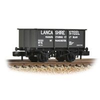 BR 27T Steel Tippler Wagon 'Lancashire Steel' Black