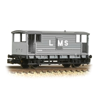 LMS 20T Brake Van LMS Grey