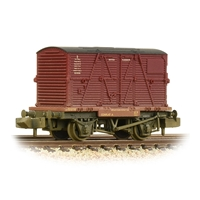 Conflat Wagon BR Bauxite (Early) with BR Crimson BD Container