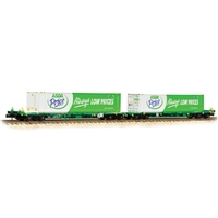 FIA Intermodal Bogie Wagons With 'ASDA' 45ft Containers