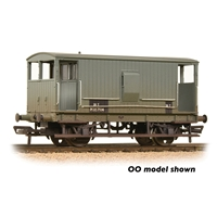 MR 20T Brake Van with Duckets BR Grey (Early)