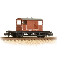 SR 25T 'Pill Box' Brake Van Right-Hand Duckets BR Bauxite (Early)