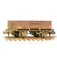 LNER 13T Steel Open with Chain Pockets BR Bauxite (Early)