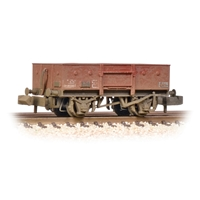 LNER 13T Steel Open with Chain Pockets BR Bauxite (Late)