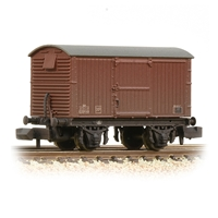 LNER 12T Ventilated Van Corrugated Steel Ends BR Bauxite (Late)
