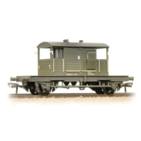SR 25T 'Pill Box' Brake Van BR Departmental Olive Green