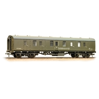 BR Mk1 BG Brake Gangwayed Departmental Olive Green