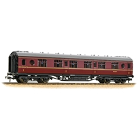 LMS 57ft 'Porthole' First Corridor BR Maroon