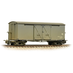 Bogie Covered Goods Wagon Nocton Estates L. R. Grey