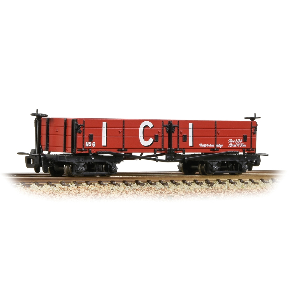 Open Bogie Wagon 'ICI' Red