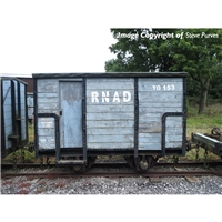 RNAD Enclosed-End Brake Van RNAD Grey