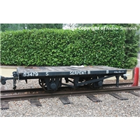 RNAD Flat Wagon Statfold Barn Railway Grey 'Serpent B'