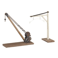 Yard Crane and Loading Gauge