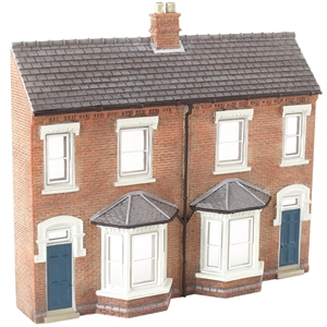 Low Relief Front Terraced Houses