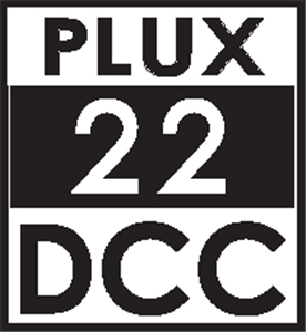 Plux22 DCC Loco-Decoder (with Brake Button function)