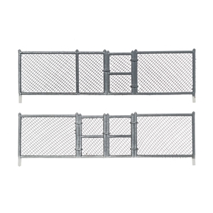 N Chain Link Fence