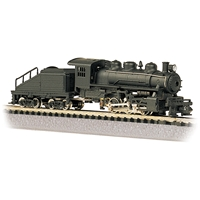 USRA 0-6-0 Switcher - Painted, Unlettered - Black