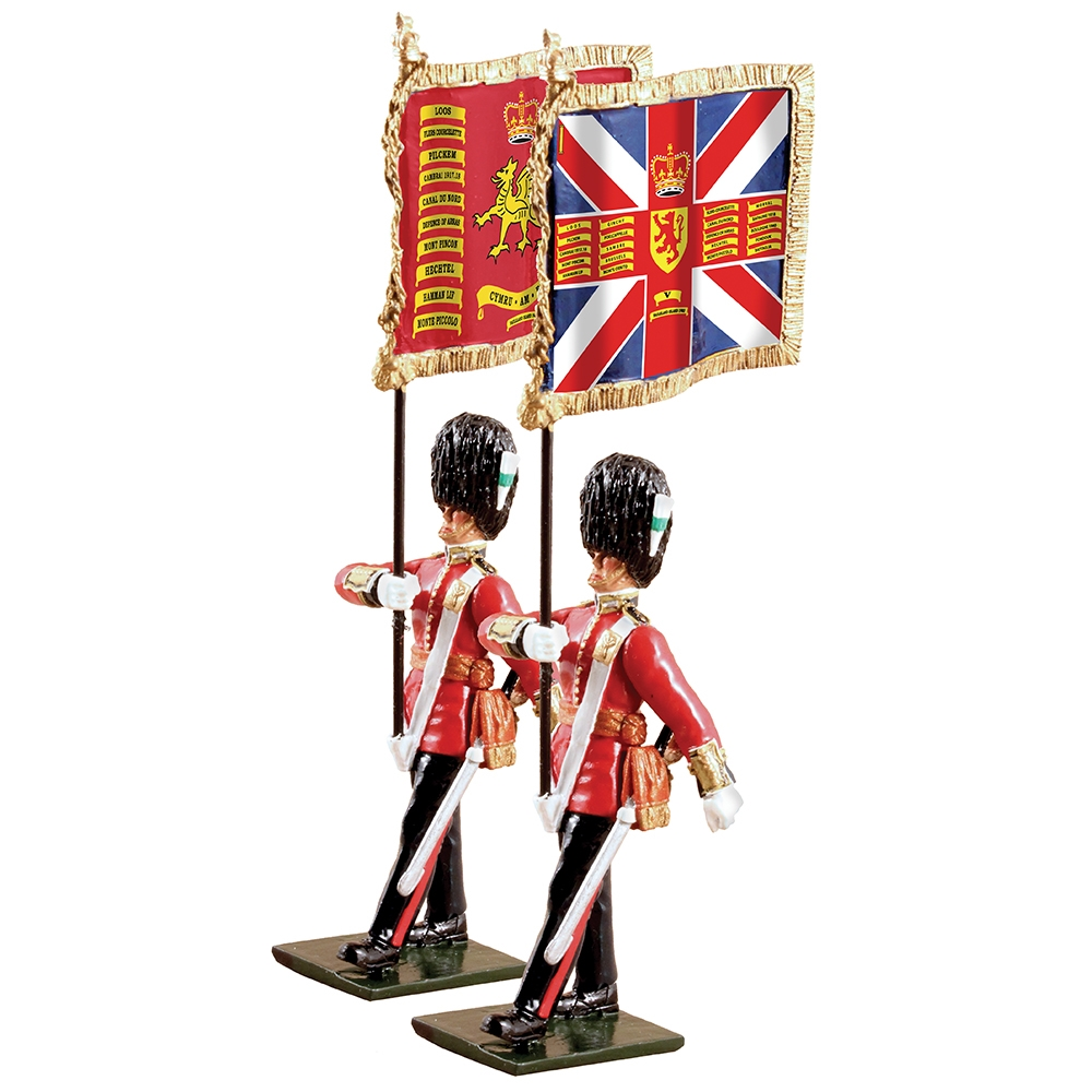 Queens Diamond Jubilee Set Welsh Guards Ltd Ed. 600