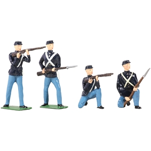 American Civil War Union Infantry Set - 4 Piece Set