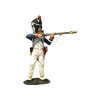 French Old Guard 3rd Rank Standing Firing