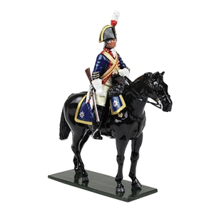 British Horse Guards (Blues) Trooper, 1795