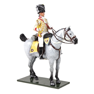 British 10th Light Dragoons Trumpeter, 1795