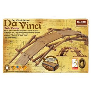 Da Vinci Arch Self-supporting Bridge