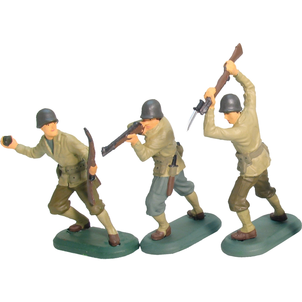 World War II US Infantry 48 Piece Counter Pack