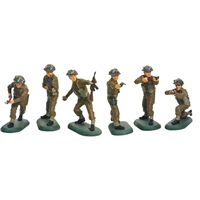 World War II British Infantry 48 Piece Counter Pack