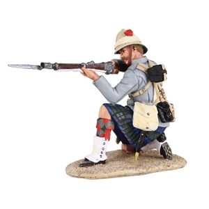 British 42nd Highlander Kneeling Firing