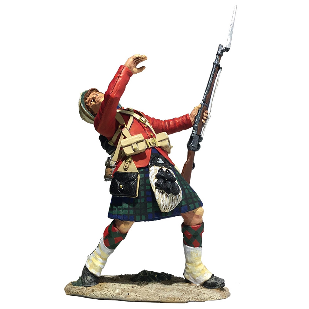 42nd Highlander Casualty Falling No.1