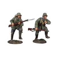 """Attack"" 1916-18 German Infantry Assault Team - 2 Piece Set"