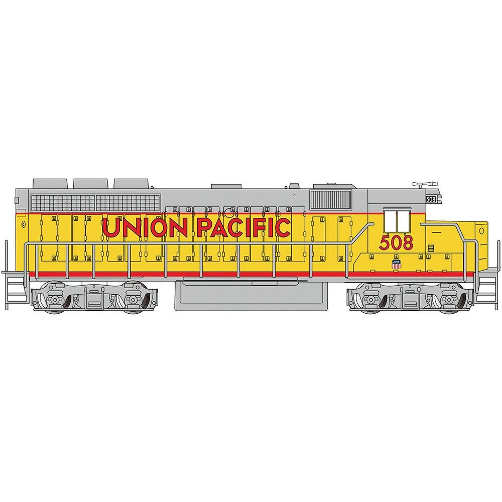 EMD GP40 Diesel Union Pacific #508 (Without Dynamic Brakes)