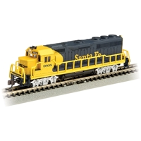 EMD GP40 - Santa Fe #3808 (With Dynamic Brakes)