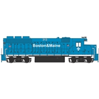 EMD GP40 - Boston & Maine #313 (Without Dynamic Brakes)