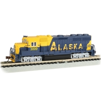 EMD GP40 - Alaska #3009 (With Dynamic Brakes)