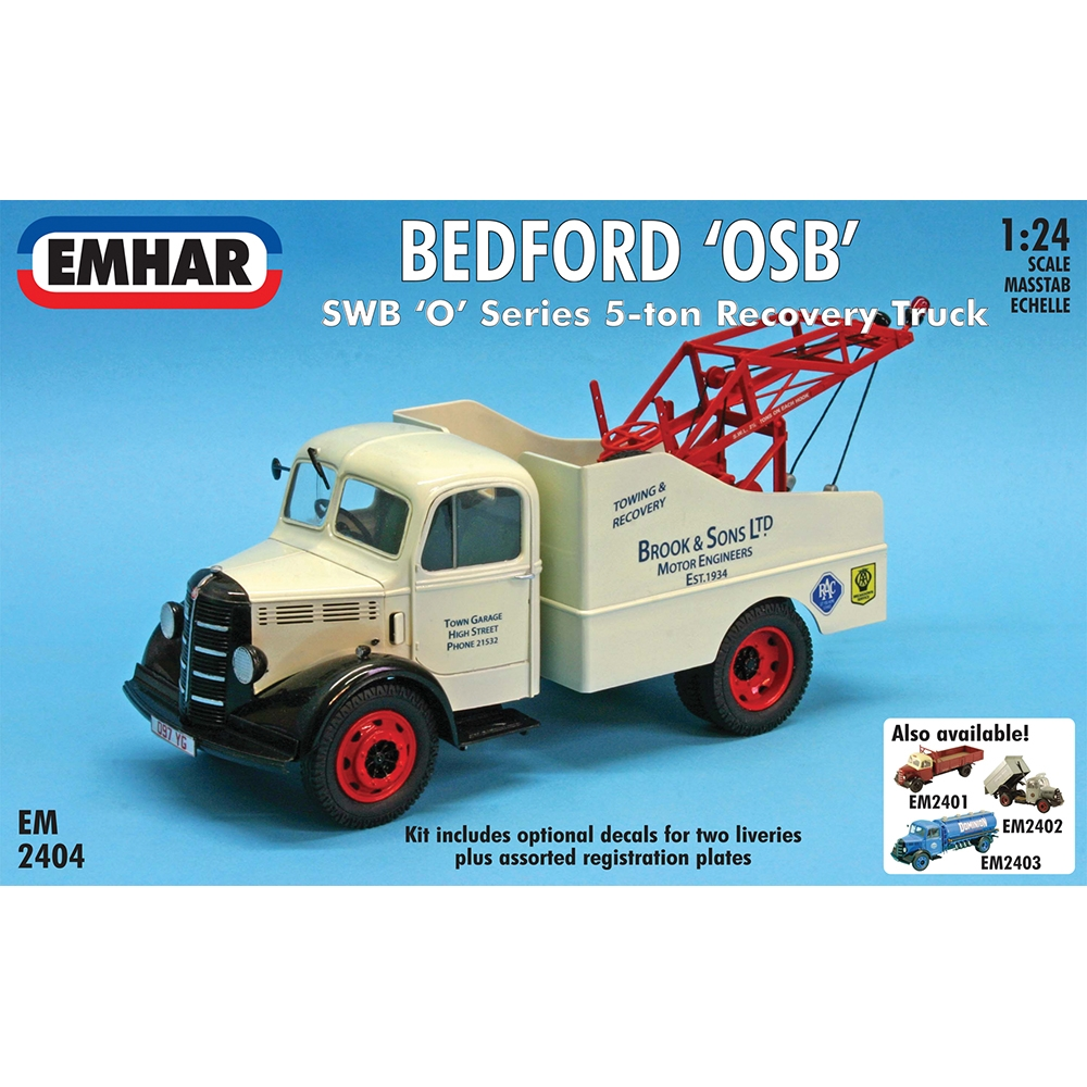 Bedford O Series SWB Recovery Truck