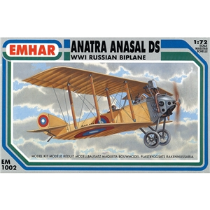 Anatra Anasal DS WWI Russian Biplane