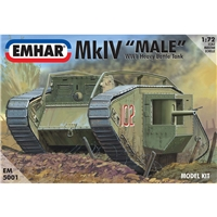 Mk IV 'Male' WWI Heavy Battle Tank