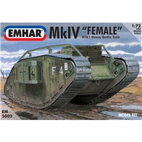Mk IV 'Female' WWI Heavy Battle Tank