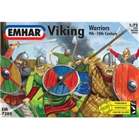 Vikings (12 poses, 50 figures)