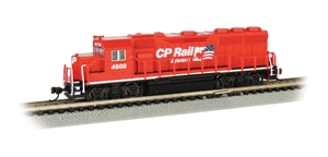 GP40 - Canadian Pacific #4608 (CP Railway System W/Flag)