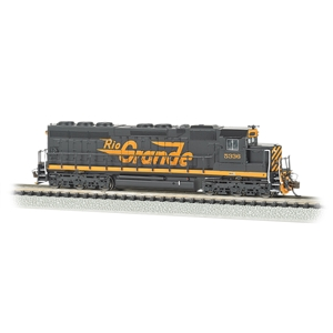 EMD SD45 - Rio Grande #5336 (DCC Sound Value)