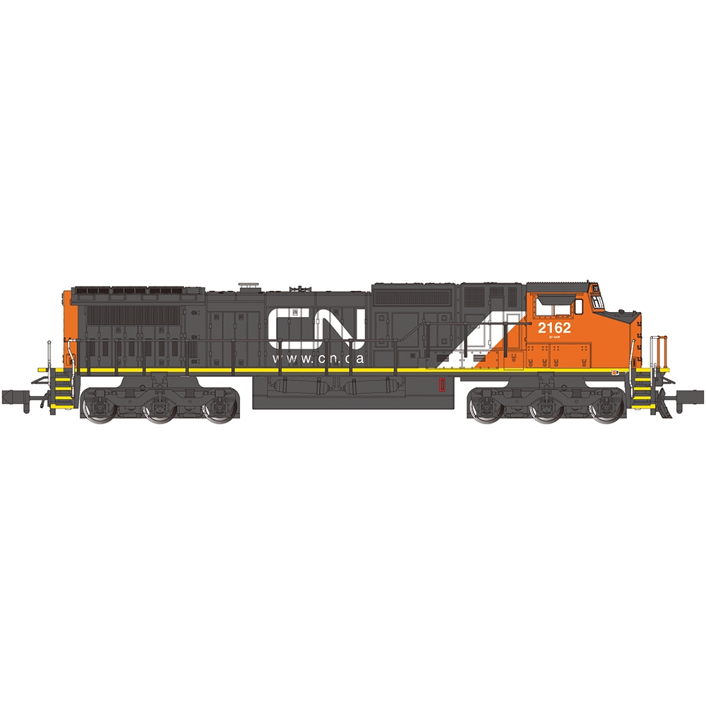 GE Dash 8-40CW - Canadian National #2162