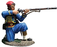 Union Infantry 146th NY Zouave Kneeling Firing No. 1