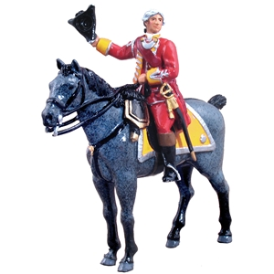 British 35th Regiment of Foot Officer Mounted - 2 Piece Set