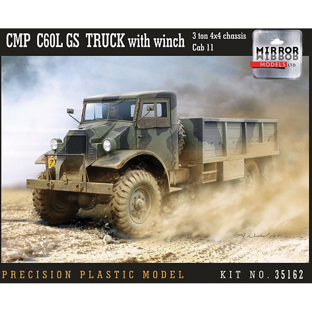 CMP C60L GS Truck with winch, 3 ton 4x4 chassis, Cab 11